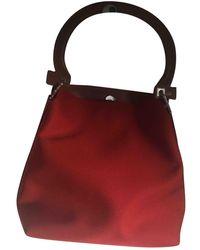 Ferragamo Leinen Handtaschen - Rot