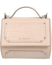 a31c498a9b62 Givenchy - Pre-owned Pandora Box Pink Leather Handbag - Lyst