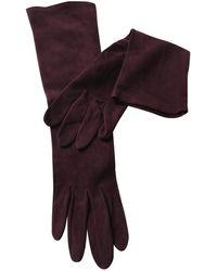 Hermès Gants en Suede - Multicolore