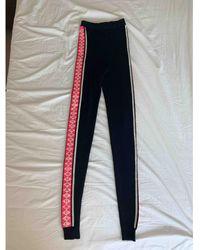 Chanel Wool leggings - Black