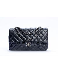 Chanel Bolso Timeless/Classique de Cuero - Negro