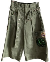 Marc Jacobs Carot Trousers - Green