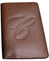Chopard Leather Card Wallet - Brown