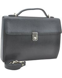 Burberry Leather Handbag - Black