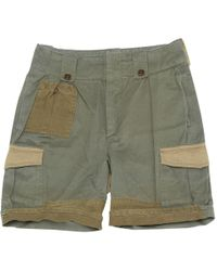Étoile Isabel Marant - Pre-owned Green Cotton Shorts - Lyst