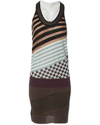Louis Vuitton | Pre-owned Wool Mid-length Dress | Lyst