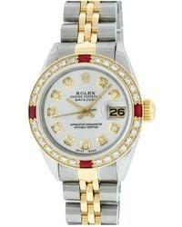 Rolex Datejust 36mm Silver Steel Watch - Metallic