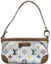 Louis Vuitton Milla Cloth Clutch Bag - Multicolour