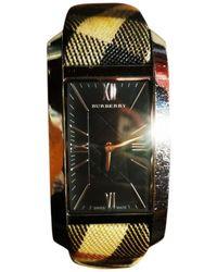 Burberry Beige Steel Watch - Natural