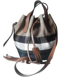 Burberry Cloth Handbag - Multicolour