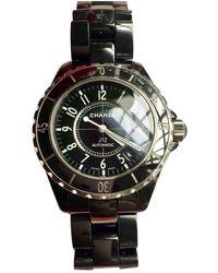 Chanel J12 Automatique Keramik Uhren - Schwarz