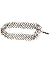 Chanel Cintura in catena argentato - Metallizzato