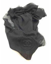 Chanel Sciarpa nero