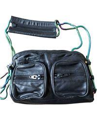 Alexander Wang Brenda Leather Handbag - Black
