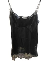 Céline Pre-owned Silk Camisole - Black