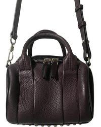 Alexander Wang Rockie Leather Handbag - Black