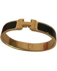 Hermès Bracelets Clic H en Métal Noir