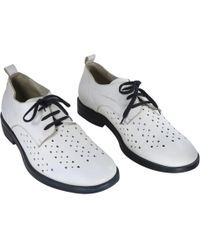 Ann Demeulemeester - Pre-owned Leather Lace Ups - Lyst
