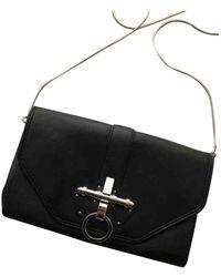 Givenchy Obsedia Leder Clutches - Schwarz