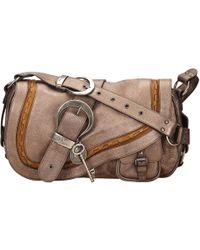 Pre-owned - Gaucho leather crossbody bag Dior NnhTClo