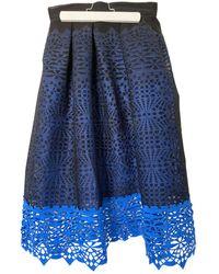 Maje Mid-length Skirt - Black