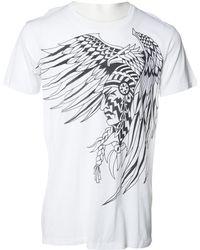 Balmain | White Cotton T-shirt | Lyst