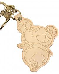 Louis Vuitton Porte-clés en cuir - Neutre