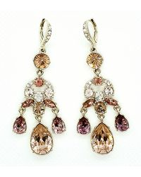 Givenchy Crystal Earrings - Metallic