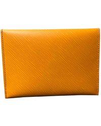 Louis Vuitton Kirigami Yellow Leather Purse/wallet