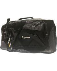 Supreme Black Cloth Bag