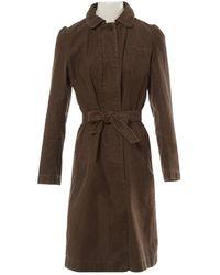 Isabel Marant - Brown Cotton Jacket - Lyst