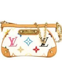 Louis Vuitton Milla Multicolour Cloth Clutch Bag - Metallic