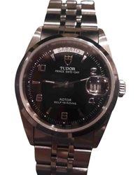 Rolex Reloj en acero negro