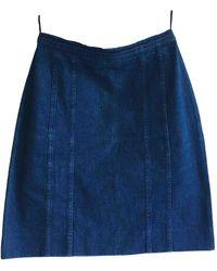 Chanel Halblang rock - Blau