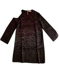 Zadig & Voltaire Fall Winter 2019 Silk Mini Dress - Black