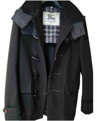 Burberry Wool Dufflecoat - Black