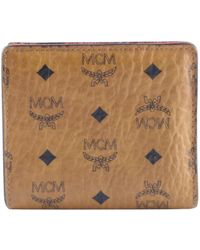 MCM - Leather Wallet - Lyst