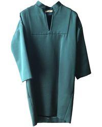 Céline Green Silk Dress