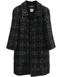 Chanel Tweed Kostüm - Schwarz