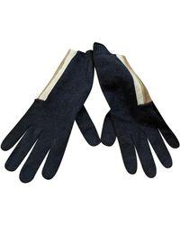 Brunello Cucinelli Cashmere Gloves - Gray
