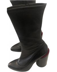 Givenchy Leather Boots - Black