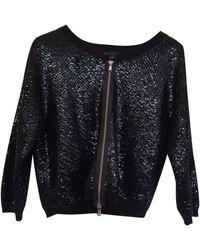 Marc By Marc Jacobs Glitter Biker Jacket - Black