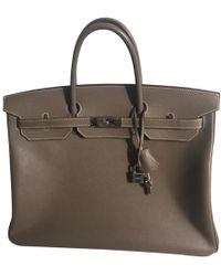 Hermès - Birkin 40 Other Leather Handbag - Lyst