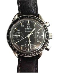 Omega Speedmaster reduced Uhren - Schwarz