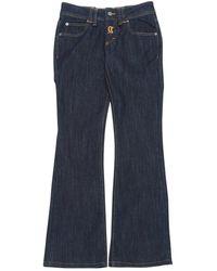 John Galliano Blue Cotton - Elasthane Jeans