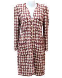 Chanel Tweed Mantel - Mehrfarbig