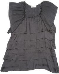 Stella McCartney - Pre-owned Silk Mini-dress - Lyst