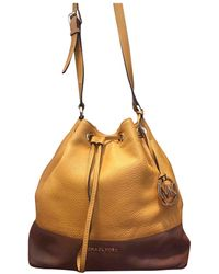 Michael Kors Jules Brown Leather Handbag