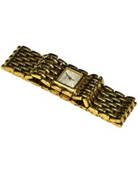 Cartier - Pre-owned Panthère Ruban Yellow Gold Watch - Lyst