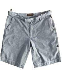 Moncler Bermudas jeans - Blau